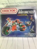 Erector #5570 Motorcycle Model NIB Factory Sealed A.C. Gilbert Great Gift!