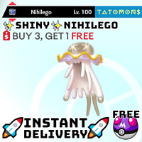 ✨Shiny Nihilego✨ Legendary Pokemon Sword and Shield 6 IV 🚀Fast Delivery🚀