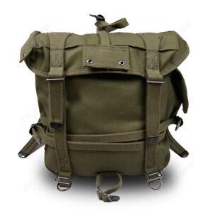 WWII Korean War US Army M1945 Pack Army Backpack Field Haversack Suspenders