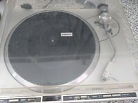 Pioneer Direct Drive Full-Automatic Record Player Turntable  PL-255 WORKS