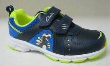 Casual Trainers Hook & Loop Fasteners Wide Shoes for Boys