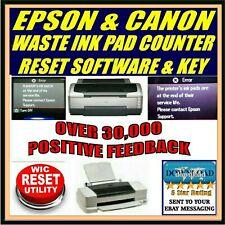 EPSON & CANON imprimante Réinitialisez le compteur de tampon encreur TÉLÉCHARGER