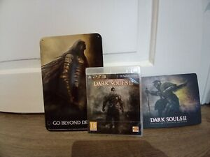 Dark Souls II on PS3 with a metal plate scholar of the first sin + an artbook