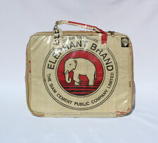 Elephant Brand Recycled Deluxe Laptop Bag made from Cement Bags in Cambodia