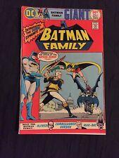 1975 DC Comics Batman Family 1 Giant Batgirl Robin Man-bat