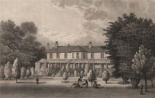 Loring Hall (originally North Cray Villa), Kent. SHEPHERD 1829 old print