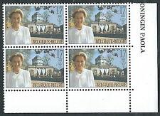 1997 BELGIO CONGIUNTA ITALIA PAOLA RUFFO QUARTINA MNH ** - ED4