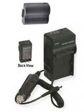 Battery + Charger Panasonic For DMC-FZ50EES DMC-FZ50EF DMC-FZ50EGM FZ50K FZ50S