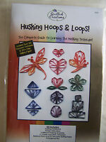 Husking Hoops and Loops Quilling Kit Instructions & Paper