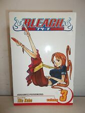 BLEACH VOL 3 TITE KUBO SHONEN JUMP MANGA PAPERBACK COMIC BOOK GRAPHIC NOVEL 2007
