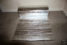 Hydroponics, Thermal Insulation, Double Foil. 5m2 Roll, Free Postage