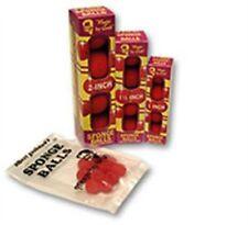 "Magic Trick Goshman SPONGE BALLS - Red - 1.5"" Set of 4"