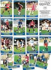 Album Panini Superfoot 1997-98 - Lot 14 vignettes d'origine