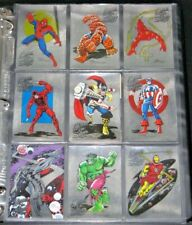 1998 Marvel Silver Age MSA Heroes of the Silver Age Complete Chase Insert Set