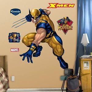 WOLVERINE~X-Men Fathead Marvel Comics 96-96007~3D Wall Art Graphics~WALL SAFE