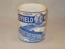 Sheffield Wednesday Football Programme Collectors MUG & Enamel Badge Set
