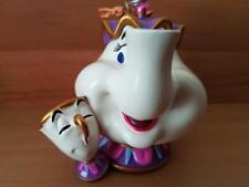 "Disney Ornament "" Mrs. Potts und Tassilo "" Original Disney, Neu ...."