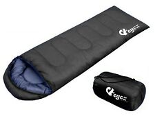 BLACK-Peanut By EGOZ Sleeping Bag Easy To Carry Warm Adult Outdoor Camping