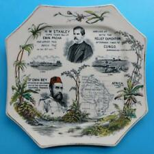 CP3 HM Stanley AFRICA EMIN PASHA EXPEDITION Cabinet Plate c1890