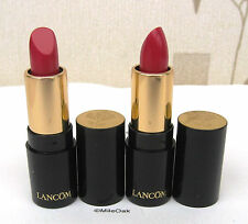 Lancome L`absolue Rouge Cream Lipstick  (368) Rose ( Pink/Red) Mini Size x 2