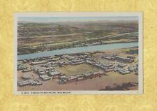 NM 1931-55 vintage postcard PUEBLO OF SAN FELIPE H-2235 New Mexico