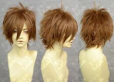 APH Axis Power Hetalia Spain Cosplay Wig Fashion New Cos Wig Hair