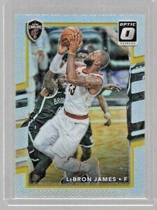 2017-18 Optic Basketball #27 Lebron James Silver Holo