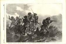 1855 battaglia di Rivoli SARDO Chasseurs Rescue Corpo del Capitano Prola