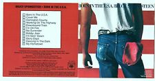 Rare Bruce Springsteen Born In The USA for Canada 1984 Columbia DADC CD CK38653