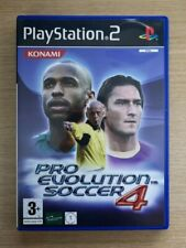 Pro Evolution Soccer 4 COMPLETE Playstation 2 PS2 Game FREE P&P