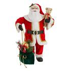 3Ft Santa Claus Standing Life Sized Living Room Christmas Decor Holiday Xmas New
