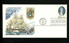 US FDC Scott #1732-33 Set of 2 200th Anniversary of Cook's Voyage to Alaska