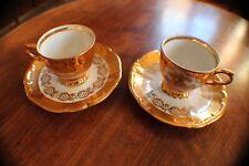 """Tasses à café de collection fine porcelaine """"GLORIA"""""""