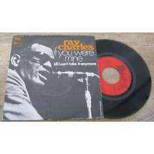 RAY CHARLES - If You Were Mine Rare French PS 7' Soul Funk 1970