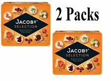 2 x Jacob's 8 Varieties Crackers Biscuits for Cheese Selection 900g Tub