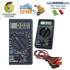 TESTER DIGITALE MULTIMETRO ELETTRICO DT 830B MATERIALE MULTI FUNZIONE BATTERIA