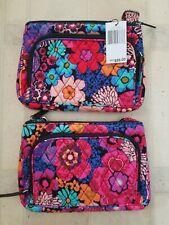 Vera Bradley Little Hipster Crossbody Handbag Bag Rare!!!! Floral Fiesta $59
