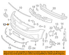 KIA OEM 17-18 Forte Front Bumper-Tow Hook Eye Cap Cover 86588B0000