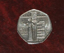 2) GB 2003 Suffragette Votes for Women 50p. Good Circulated.