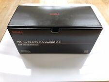 Sigma 105mm F/2.8 EX DG Macro OS Nikon F Fit