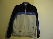 Vintage Adidas Retro Sports Jacket Purple And Black Xl