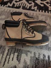 Pro Line Steel Shank Felt Sole Fly Fishing Wading Boot Men's Size 14