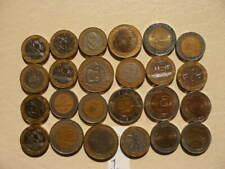 Lot of 24 Bi-metallic Mixed World Coins - Lot 1