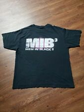 2012 Men In Black Mib 3 Dunkin Donuts Movie Promo Double Sided Xl T-Shirt