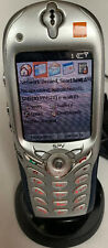 Microsoft Windows 2002 Orange E100 SPV Locked Mobile Phone - Excellent Condition