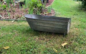 Small French bathtub early twentieth - zinc