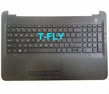 New HP 15AC 15-AC 15-AF130NR Palmrest upper Case Keyboard W Touchpad 813974-001