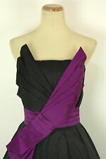 New Jovani Formal Cruise Cocktail $400 Dress Size 6 Black Club gown Short Dress