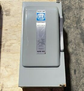ITE Safety Switch NF-354 Vacu-Break Clampmatic 200 Amp 600 VAC 3 Ph 240/480 VAC