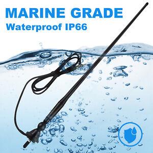 Marine Radio Antenna Boat Gauge Style MP3/AM/FM Waterproof Boat Stereo UTV Car